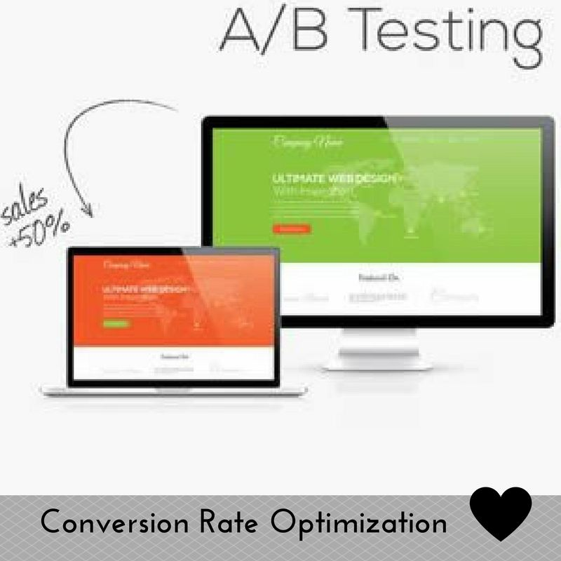 Conversion rate optimization example